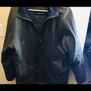 Men's Coat Size L, London Fog,Zip Up